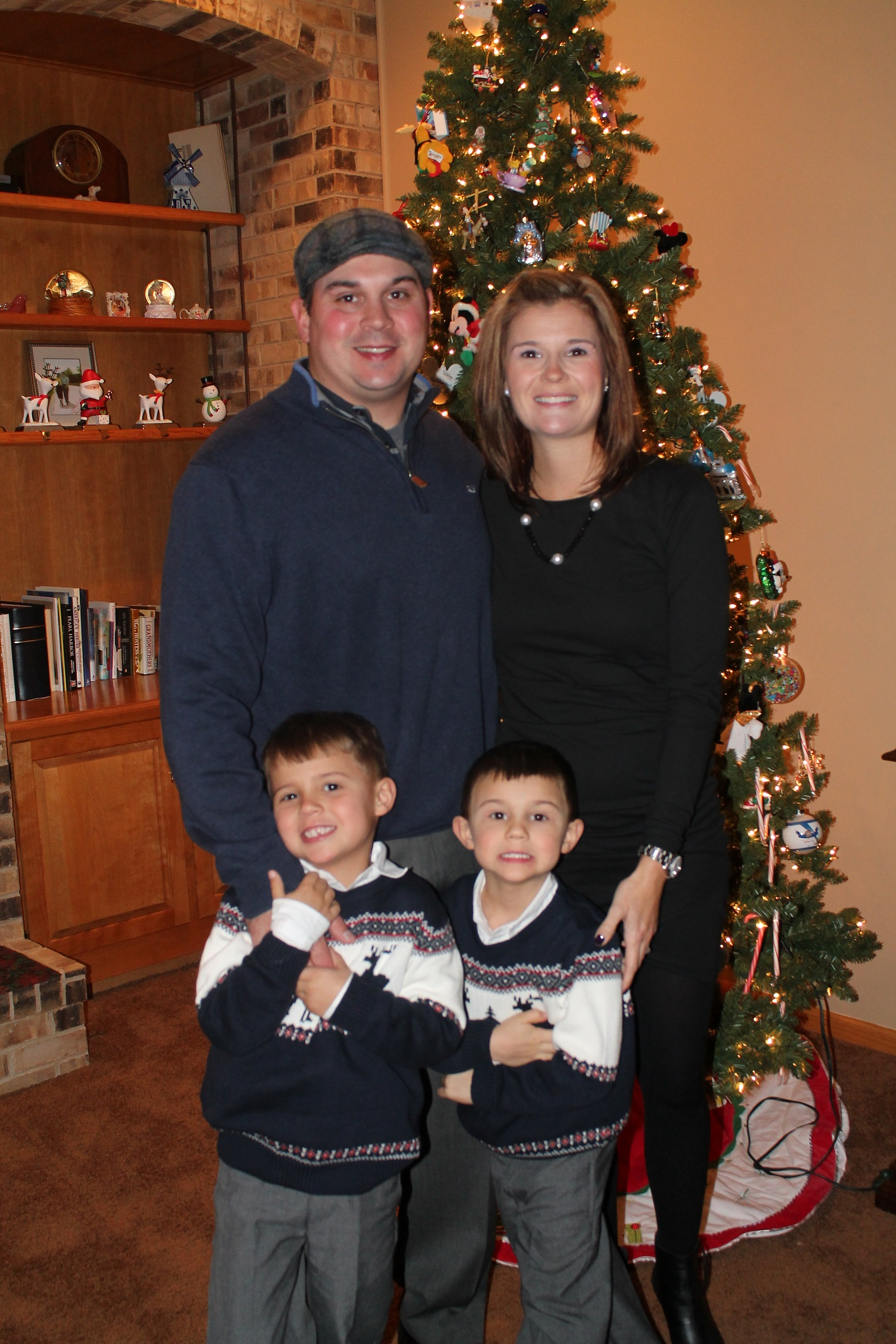 The Selleck Family (plus one on the way in June.)