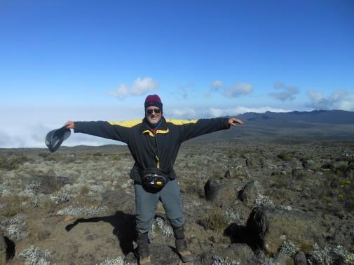 Heart patient stops at nothing to climb Mt. Kilimanjaro