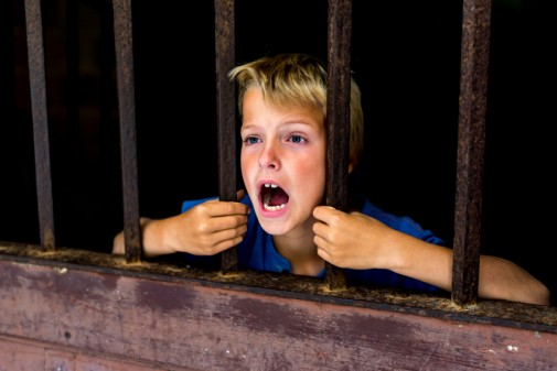 Are kids spending less time outside than prisoners?