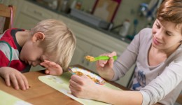 Get your picky eater to give in