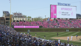 #PinkOut at Wrigley Field