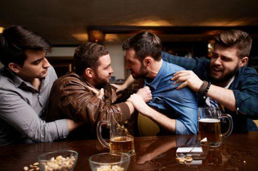 How do neighborhood bars affect ambulance calls?