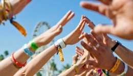 What's living on your festival wristbands?