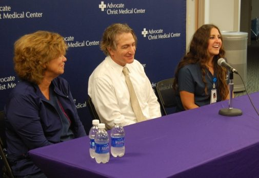 A decade later, doctor and nurse reunite with woman they saved