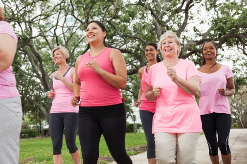 Exercising proves beneficial for breast cancer patients experiencing these problems