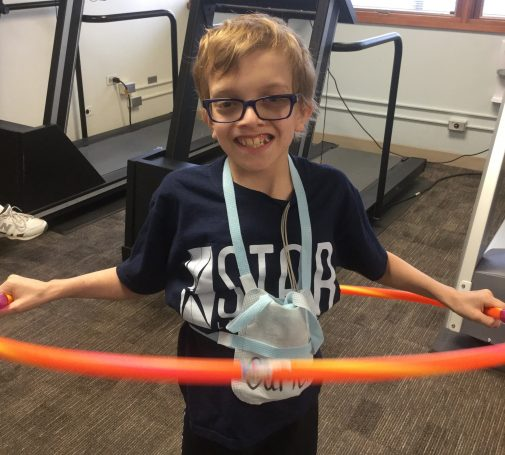 Meet an 11-year-old superhero