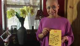 Chicago teacher's breast cancer journey inspires students