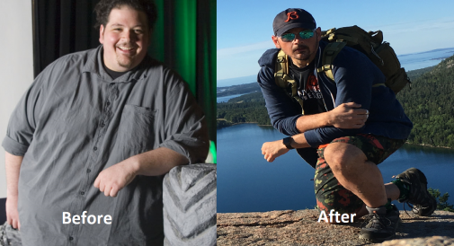 18 months later and 200 pounds lighter