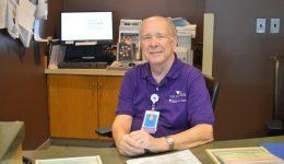 Hospital volunteer credits $49 heart scan for saving his life