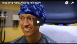 Inspiring kids: Alejandro's story