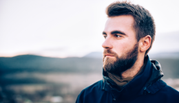 Kissing a beard may be like kissing a toilet