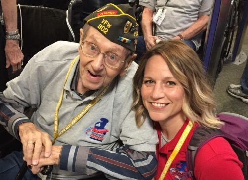 Nurses serve veterans through Honor Flight Chicago