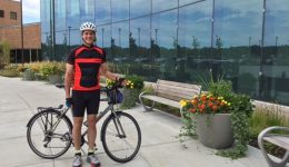 Barrington doctor makes his commute a healthy cycle of life