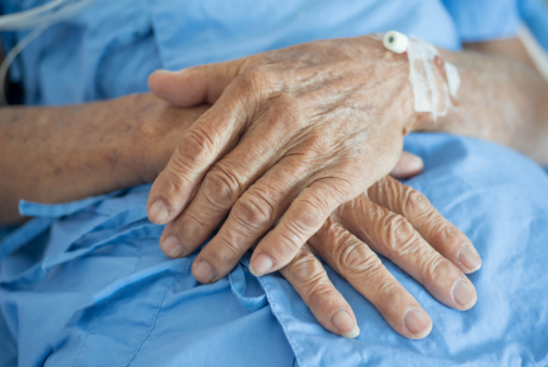 I saved an old man's life – he didn't want it