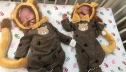 Cuteness overload: Our tiniest patients celebrate their first Halloween