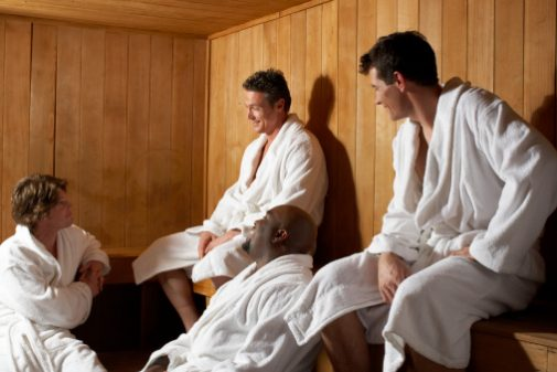 Think a sauna will help you lose weight? Read this.