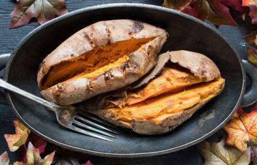 Featured Recipe: Chipotle-stuffed sweet potatoes