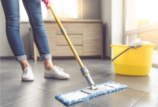 The most germ-ridden spot in your home is….
