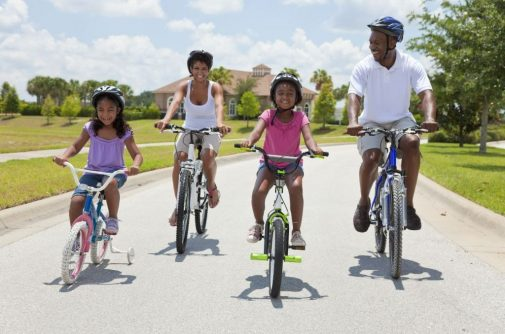 It's warmer now. Here's why riding a bike outside is a great way to exercise