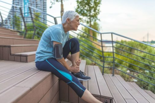 What does that cramp in your leg mean?