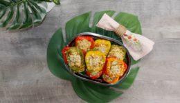 Recipe: No Paneer Stuffed Bell Peppers