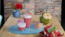 Recipe: Watermelon Coconut Protein Drink