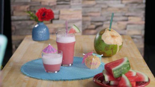 Recipe: Watermelon Coconut Protein Drink