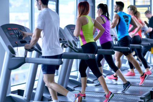 How to deal with germs at the gym