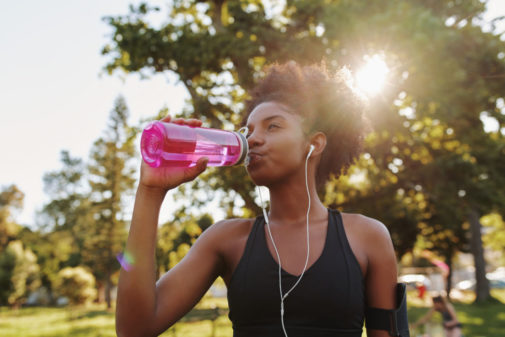 Should you wear headphones when you exercise?