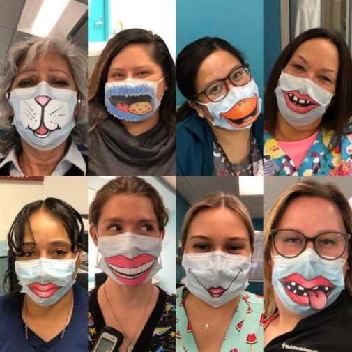Health care heroes: Revealing their smiles