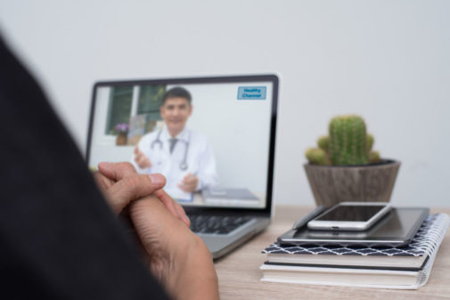 How a virtual doctor visit helped save a life