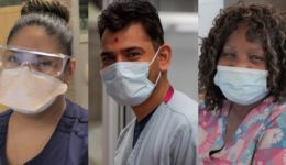 These heroes capture the emotions protective masks don't hide
