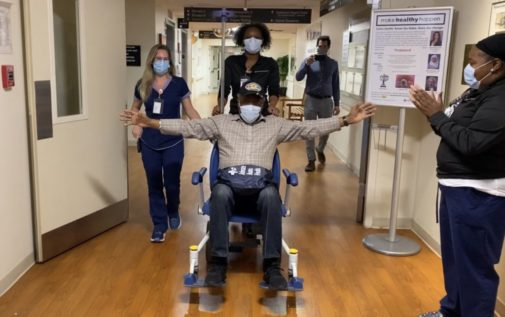 Vietnam veteran celebrates Memorial Day by being discharged from the hospital