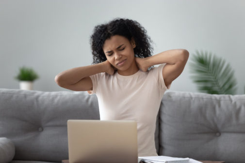 Do you feel more tired and less productive when working from home?