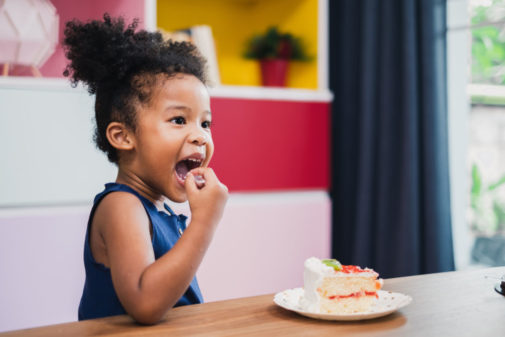 How to get kids to eat healthier while stuck at home