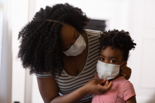 How do you talk to your kids about wearing a mask?