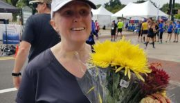 Continuing an active lifestyle while living with breast cancer