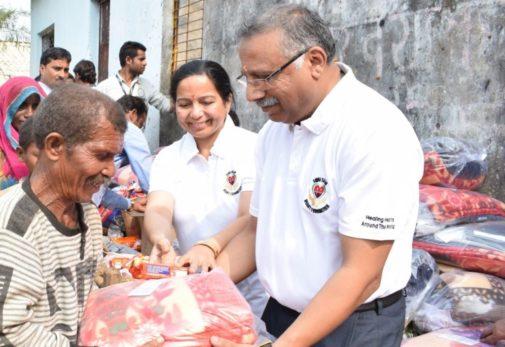 Helping COVID-19 patients from Kenosha to India