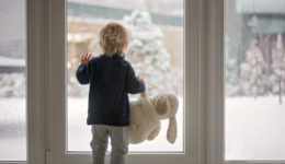 How to navigate winter with kids at home