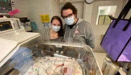 West Dundee family credits medical workers for support during premature baby's time in NICU