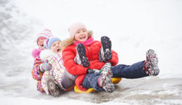Tips for keeping children's bodies and minds active this winter