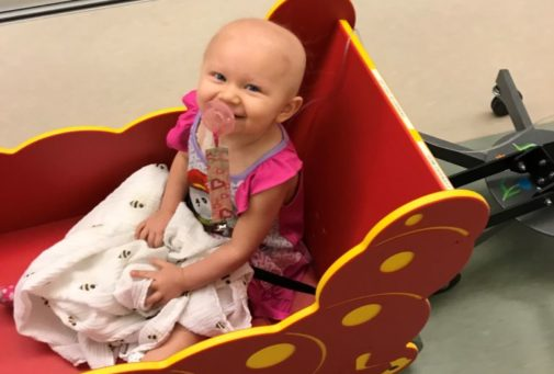 Diagnosed with neuroblastoma at 19 months, resilient Maddie Crokin beats cancer thanks to CCHA team