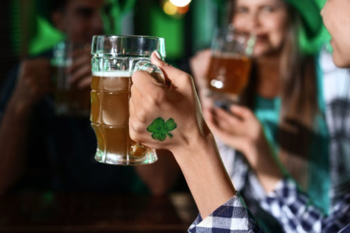 Green beers for St. Patrick's Day? A dietitian weighs in.