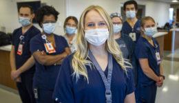 Nurses use cardiac machine and training to help COVID-19 patients breathe