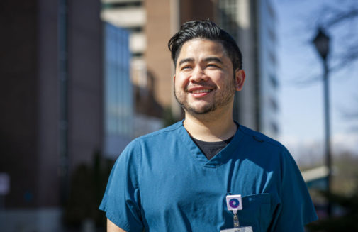 He's making patients happier and healthier through teamwork and excellence