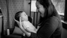 Catching this pregnancy complication early allowed her to celebrate her first Mother's Day