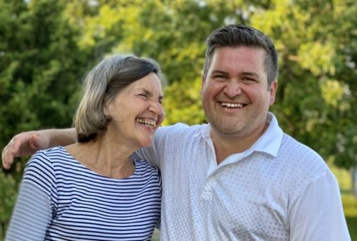 Son's surprising take on mom's cancer diagnosis: 'An absolute blessing'
