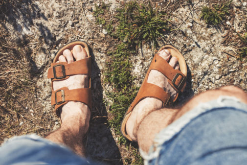 The search for supportive sandals