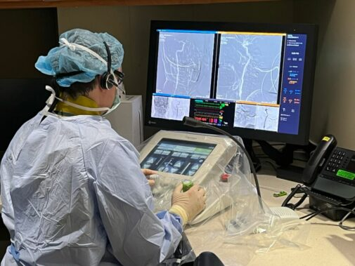 How new robotic technology helped Lutheran General patient with brain aneurysm
